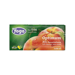 Succo Pesca Optimum - Yoga - 3x200 ml