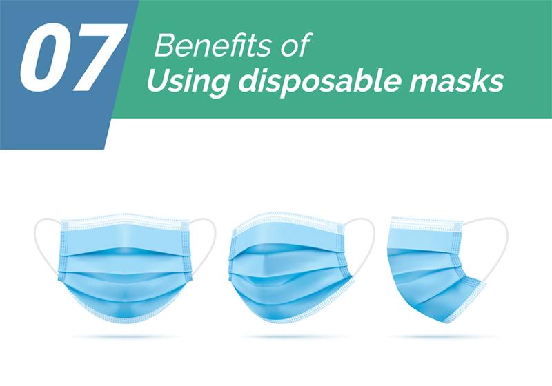 7 Benefits of Using Disposable Masks