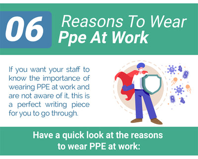 06 Reasons To Wear PPE At Work