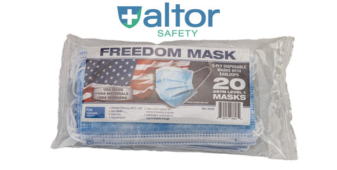 20 pack of disposable face masks