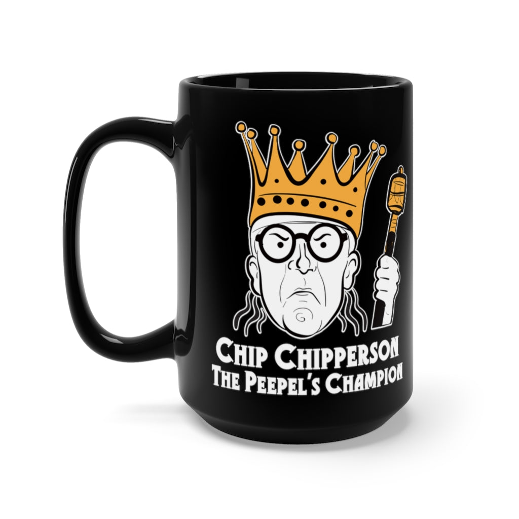 The Peepel's Champion 15 oz Black Mug