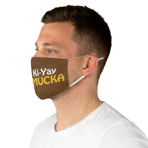 Chippy Ki Yay brown Fabric Face Mask