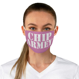 CHIP ARMEY pink Fabric Face Mask
