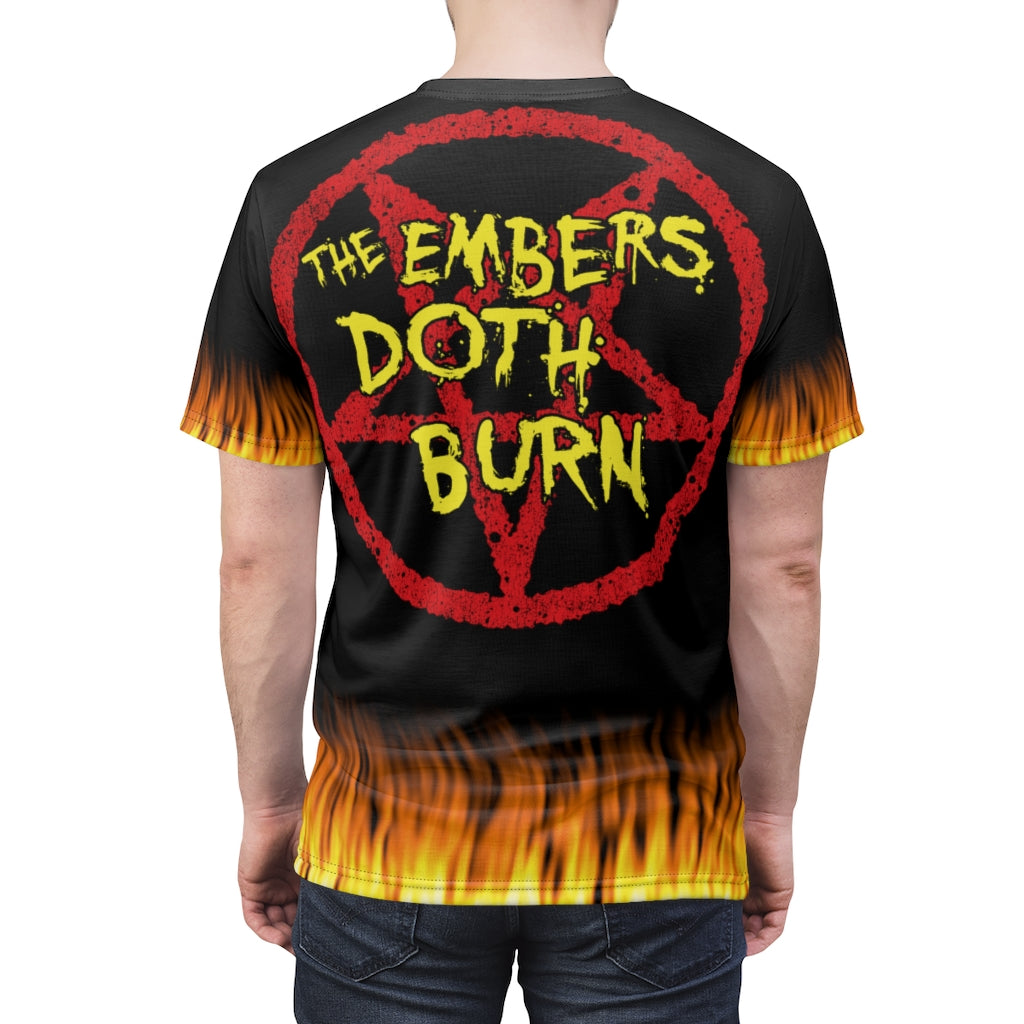 Burnin Embers 'The Embers Doth Burn' 2 Fire All Over Print Shirt