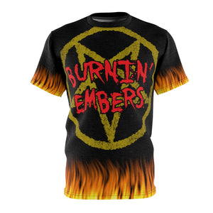 Burnin Embers Hell is Evil  Double Burn All Over Print Shirt