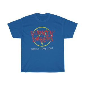 Burnin Embers world tour 2001 Standard Fit Cotton Shirt DOUBLE SIDED