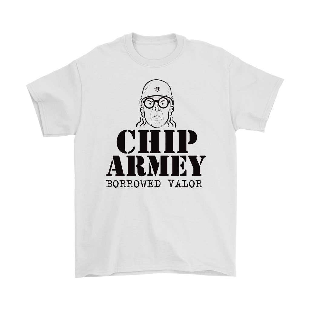 Chip Armey Borrowed Valor Standard Fit Cotton Shirt