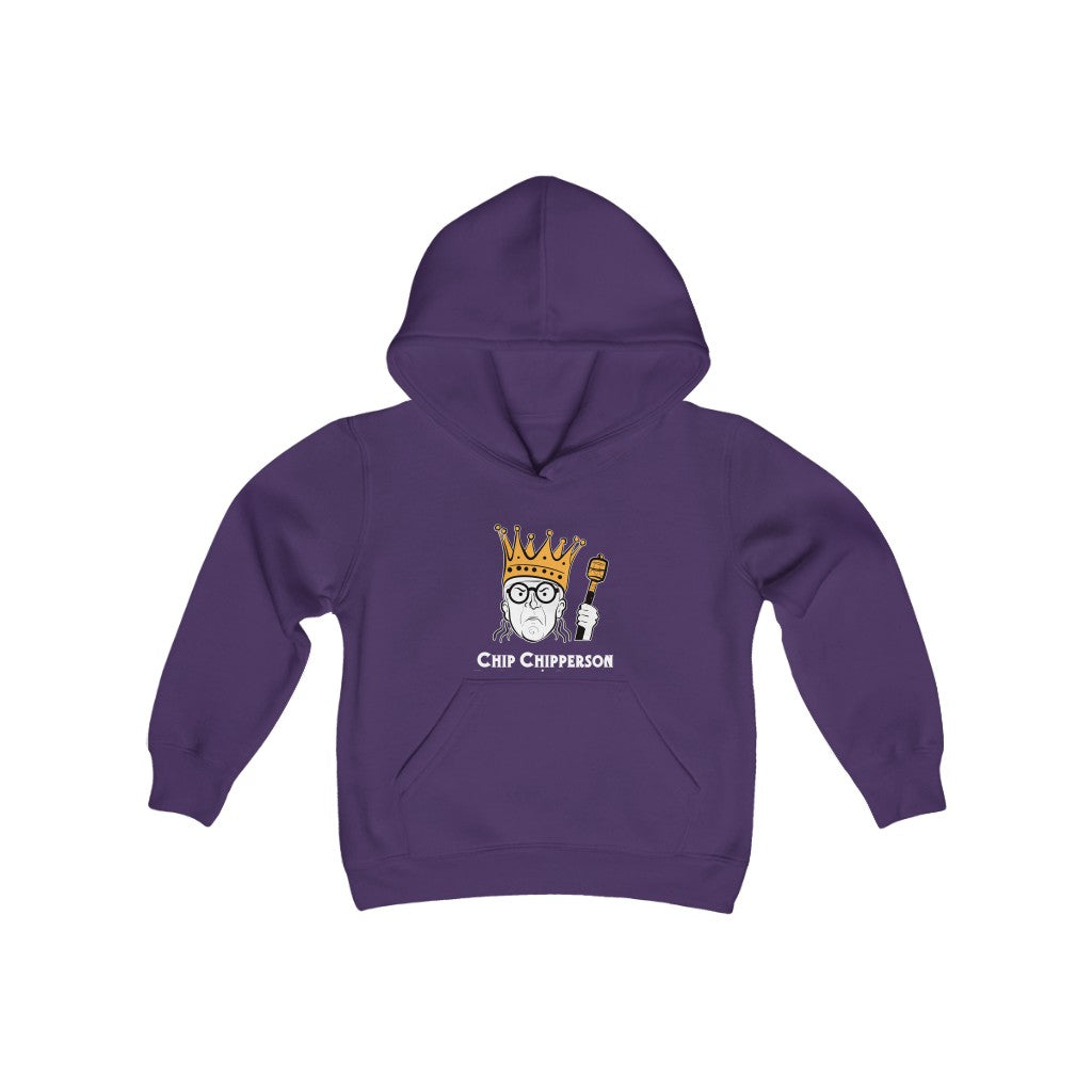 King Chipperson Youth Hoodie