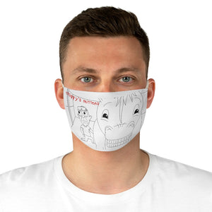 Chippy's Mittens Tuggin Fabric Face Mask