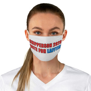 Chipperson 2020 Red Blue Fabric Face Mask