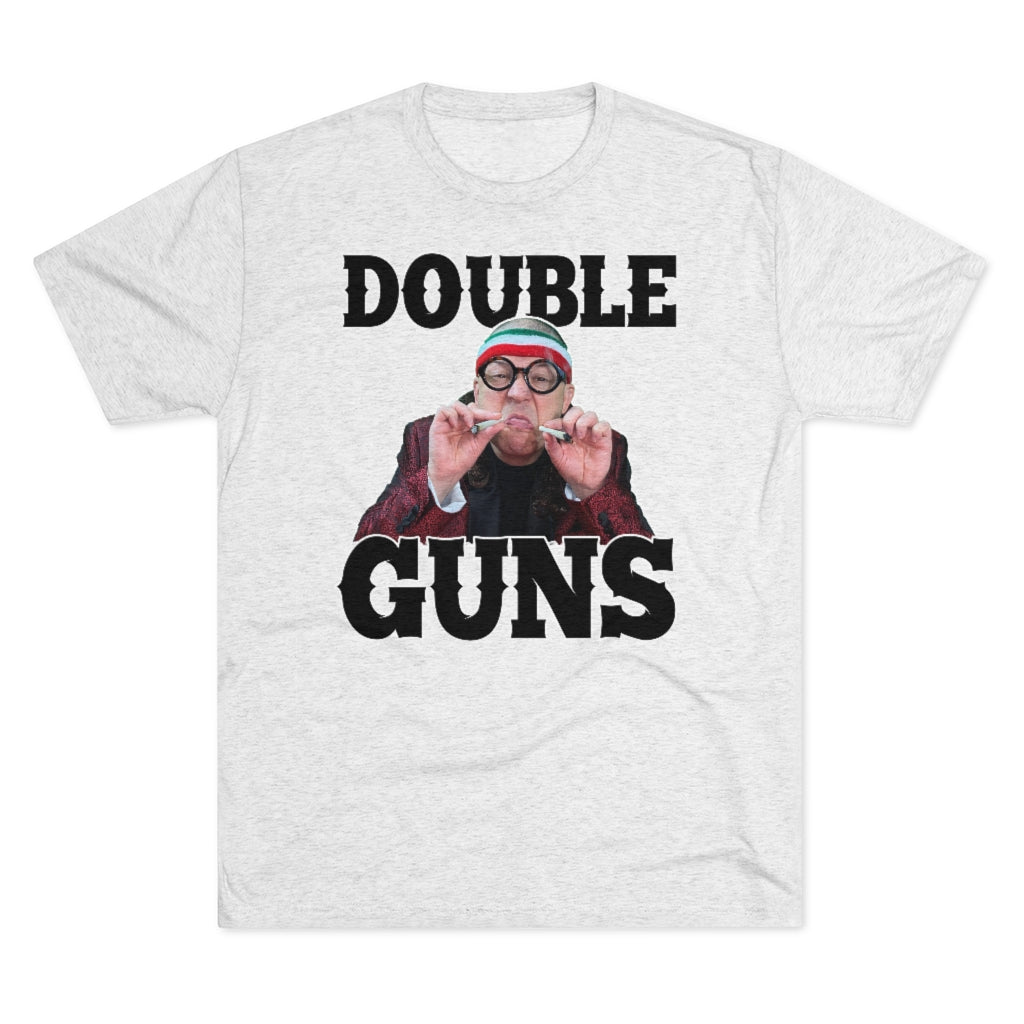 Double Guns Triblend Athletic Fit Shirt