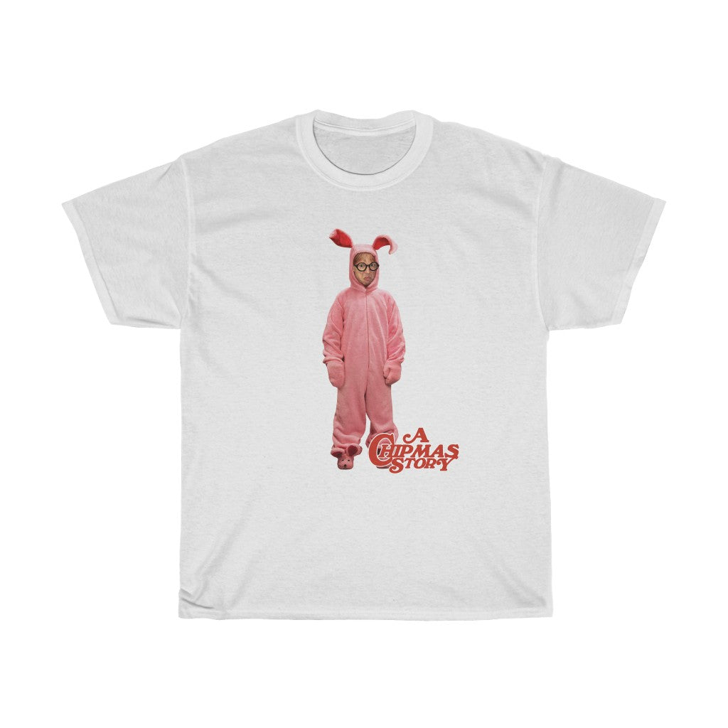 A Chipmas Story Rabbit  Cotton Standard Fit Shirt