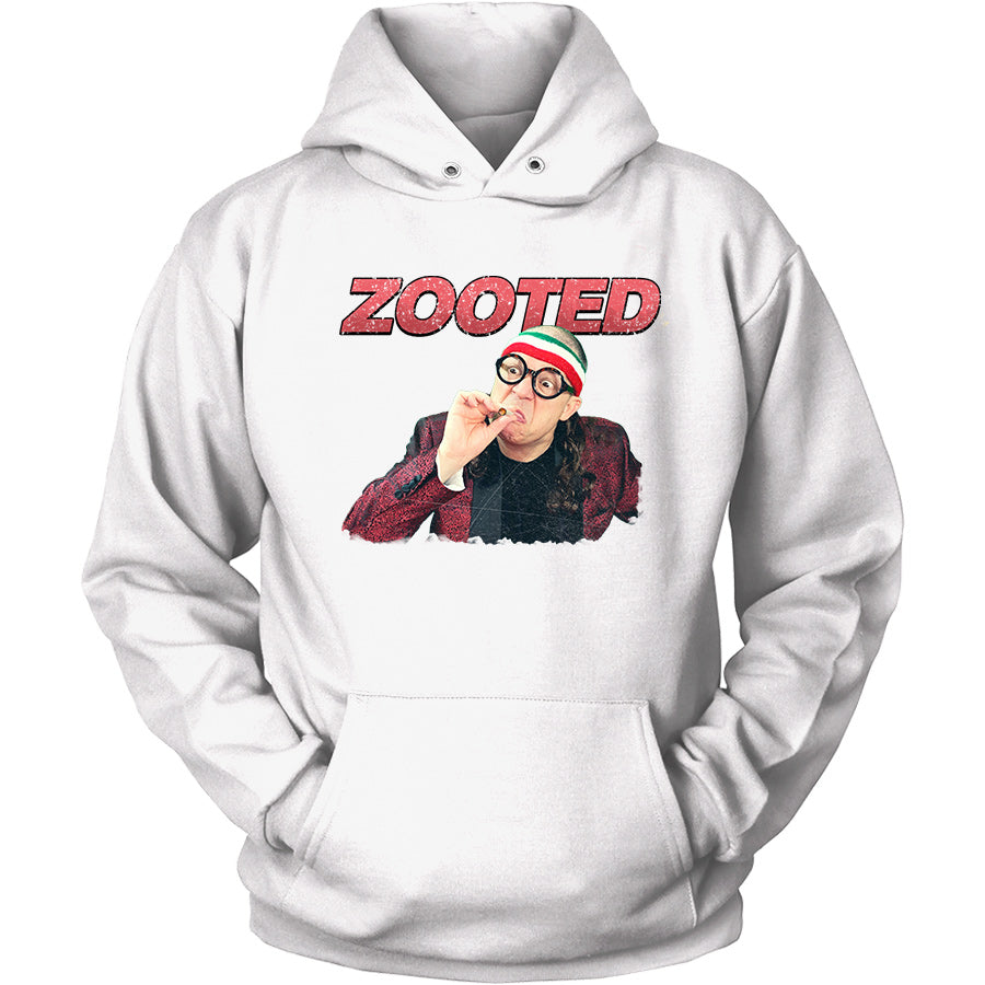 DOUBLE SIDED ZOOTED Unisex Heavy Blend™ Hooded Sweatshirt