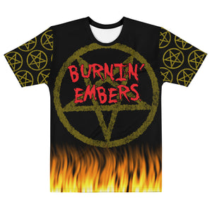 Burnin Embers LIMITED EDITION Fire Pentagram All Over Print Shirt