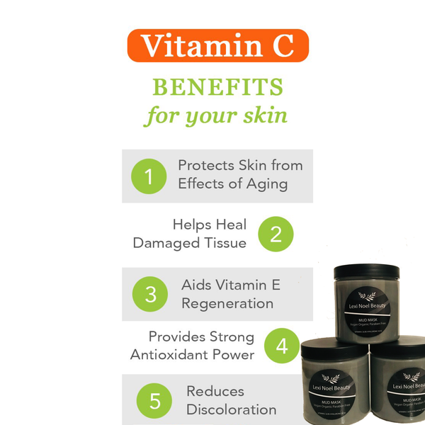 Hyaluronic Vitamin C Charcoal Mud Mask