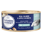 Farmers Market Real Salmon and Apple in Broth Grain-Free Adult Cat Food