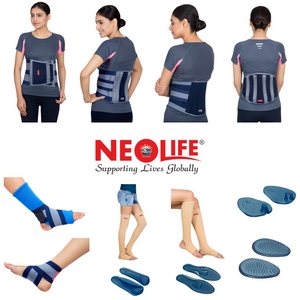 NEOLIFE is one of the recognised brand in Orthopedic and Rehabilitation sector in Nepal. Neolife has products ranging from cervical region to toe region. The most recognised products are NEOLIFE Cervical Collar, NEOLIFE Abdominal belt, NEOLIFE Clavicle.