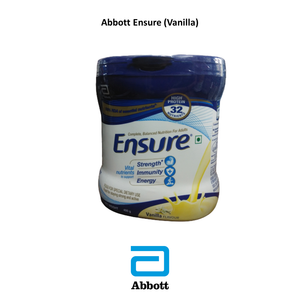Ensure, Vanilla, Chocolate, Diabetic vanilla Flavor, A Product Of Abbott, 400Gm