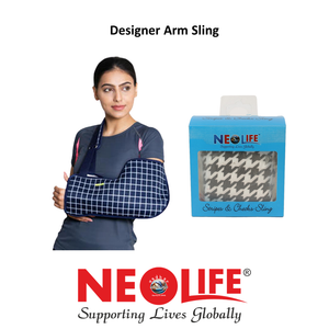 NEOLIFE Check Design Arm Sling