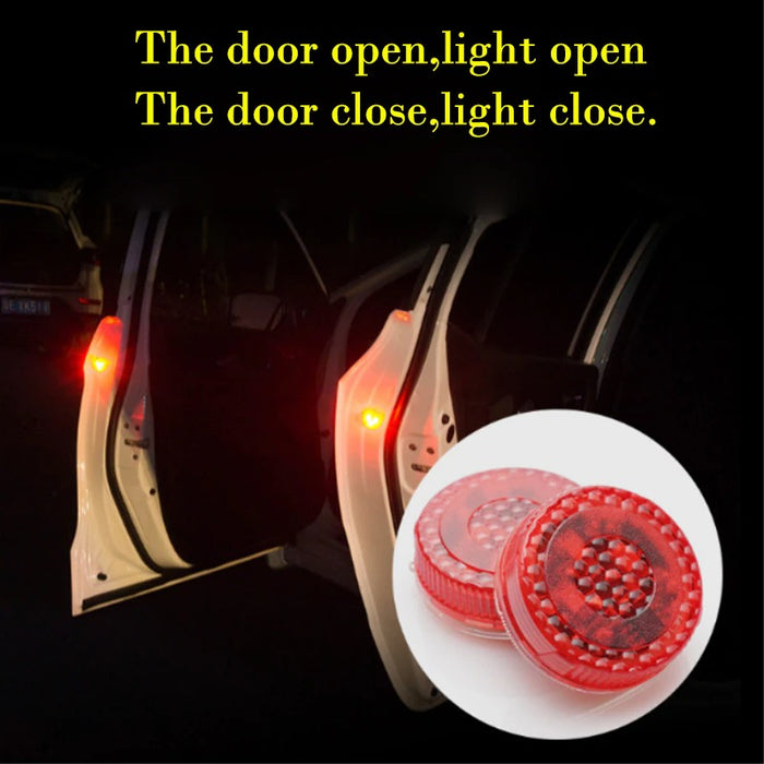 2PCS Car Door LED Warning Light