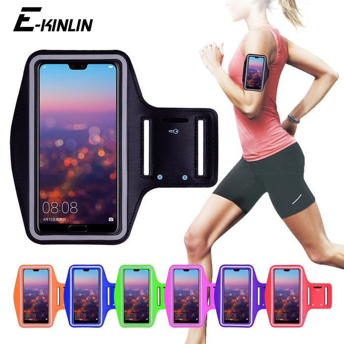 Running Gym Cycling Sport Workout Phone Bag Cove Arm Band Case