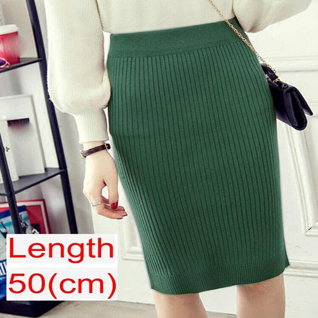 2020 Women Office Skirt Spring autumn