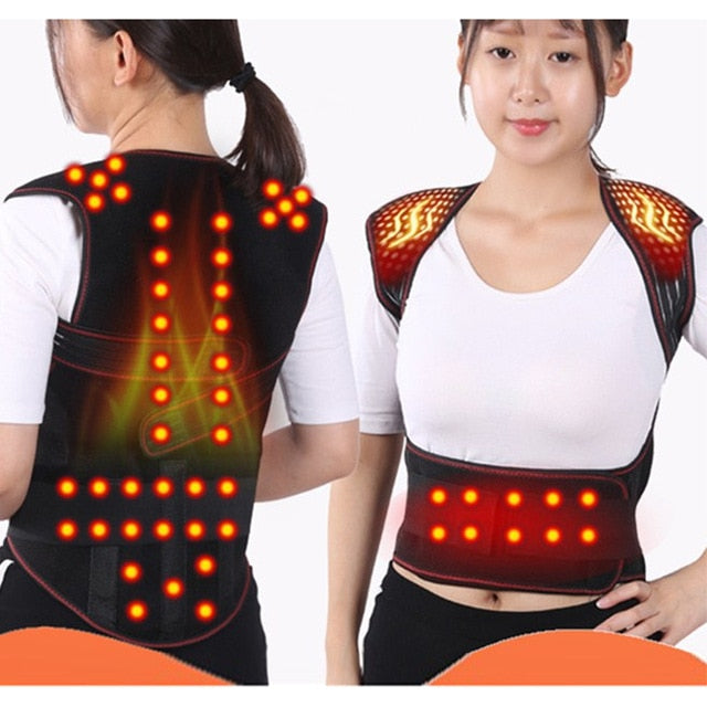 Tourmaline Self-heating Magnetic Therapy Waist Back Shoulder Posture Corrector