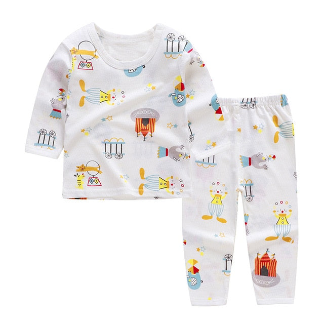 Long Sleeves Top + Pants Baby Clothes