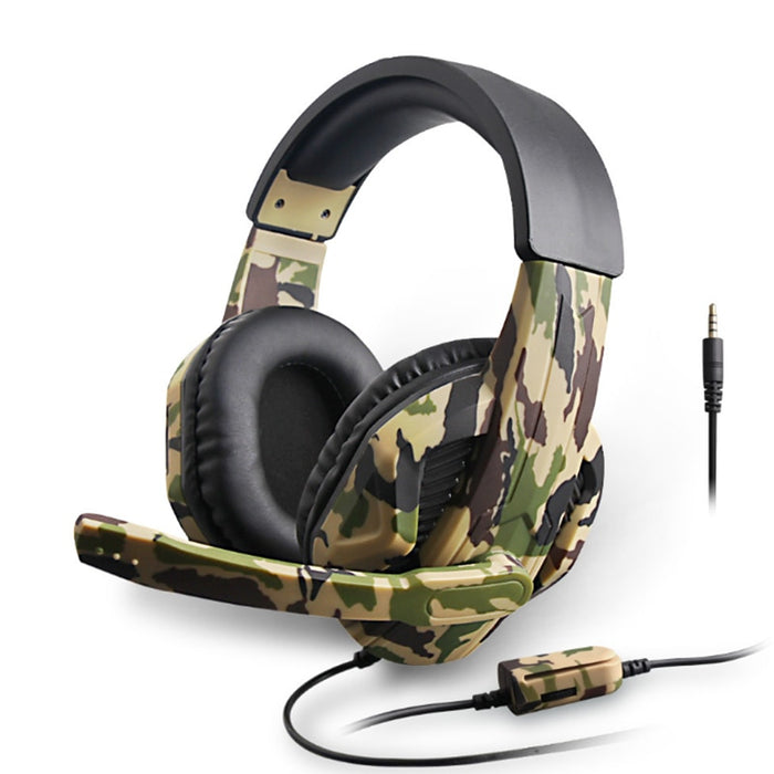 3.5MM Camouflage Gaming Headset