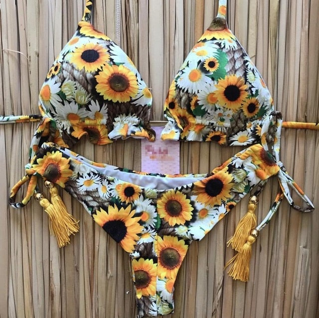 2020 New Bikinis Women Swimsuit Cross