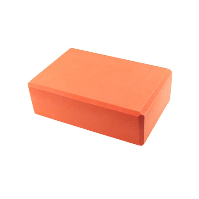 Yoga Block Brick Exercise Fitness Tool Exercise Workout Stretching Aid Body Shaping Health Training Equipment