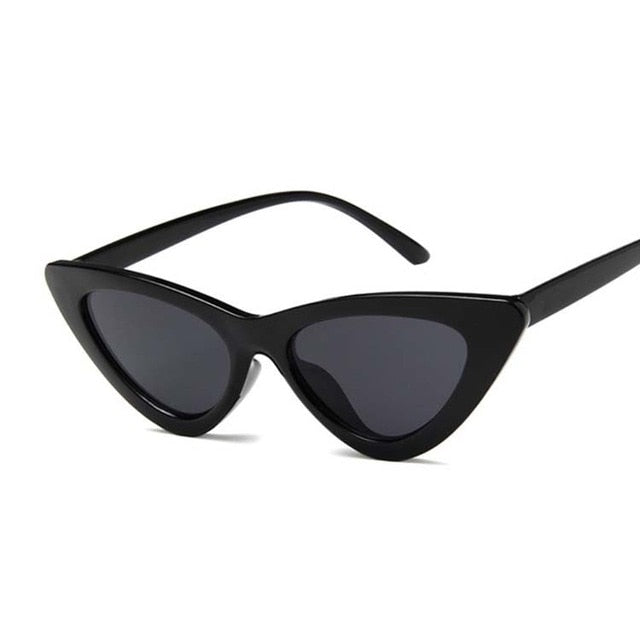 Sunglasses Women Retro Small Cat Eye Sun Glasses Brand Designer Colorful Eyewear