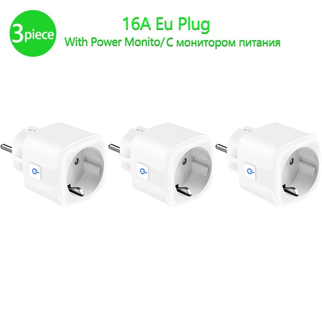 Smart WiFi Plug with Power Monitor