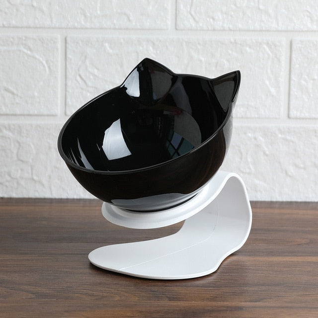 Explosive Cat Double Food Bowl