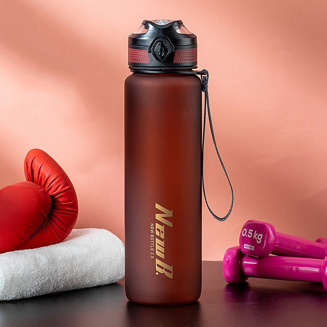 650ml/1000ml Tritan Material Sport Water Bottle
