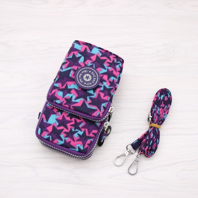 Universal Mobile Phone BagWallet Case Outdoor Arm Shoulder