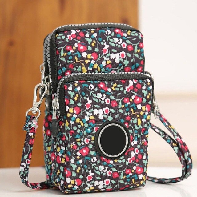 New2020 Mini Cross-body Mobile Phone Shoulder Bag Pouch Case Belt Women Handbag Purse Wallet Pouch Shoulder Mobile Phone Bag