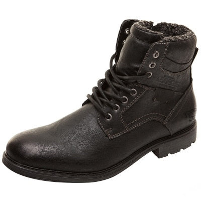 Men Shoes Autumn Winter Boots Retro Style