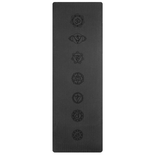 6MM TPE Non-slip Yoga Mats For Fitness Pilates Gym Exercise Sport