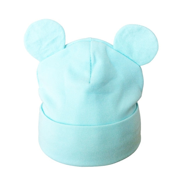 Autumn Winter Baby Boy Girl Cartoon Cotton Hat