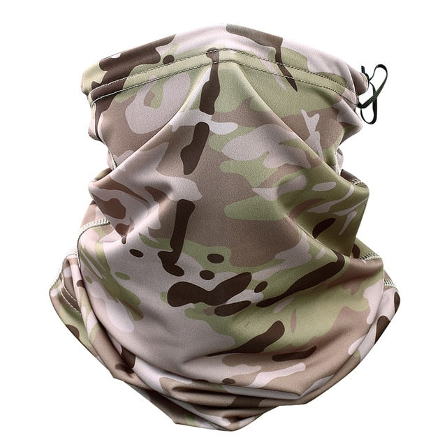 Magic Headband Multicam Camouflage Tactical Neck Warmer Tube Face Cover Bandana Head Military Bicycle Scarf Wristband Pirate Rag