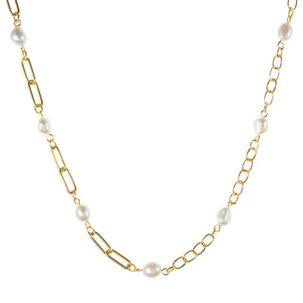 SLOAN NECKLACE // GOLD