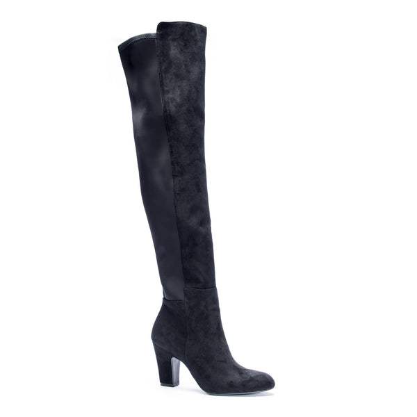 CANYONS OVER THE KNEE BOOT // BLACK