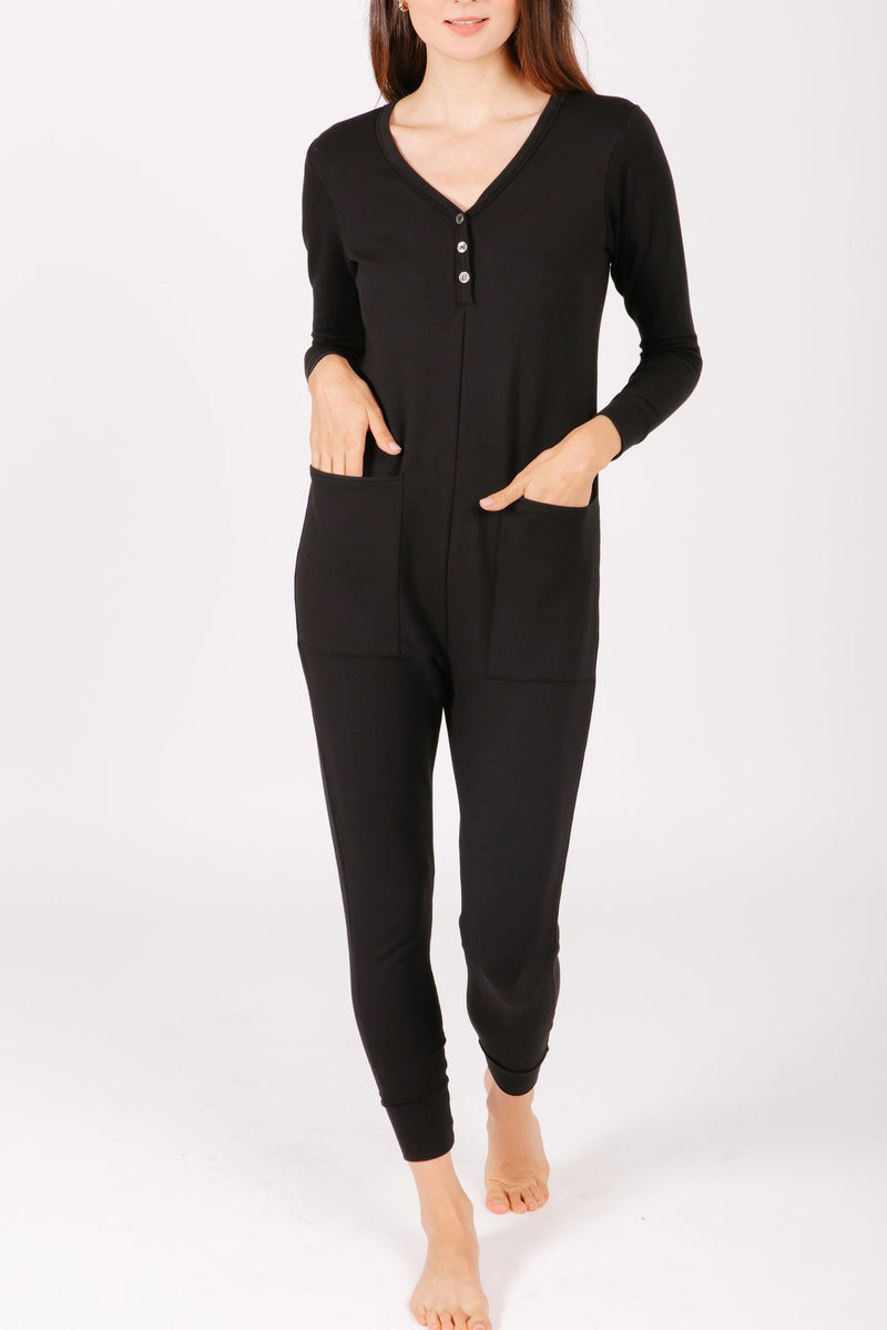 WEDNESDAY ROMPER // BLACK