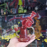 Wolf Glass Red Pom and Nova Recycler