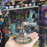 JJ Glass Grateful Dead Recycler - 710 Vapors