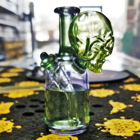 710 Glass x Sweeney Glass Skull Jammer Collaboration - 710 Vapors