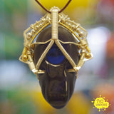 Bishop x Jason Burruss Wire-Wrapped Head Pendant