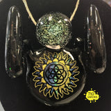 Box Fan x Turtle Time Glass Starship Enterprise Pendant Collab