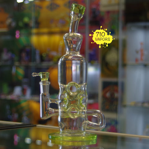 Chaddy Glass Sublime Triple Stack Swiss Pass-through - 710 Vapors